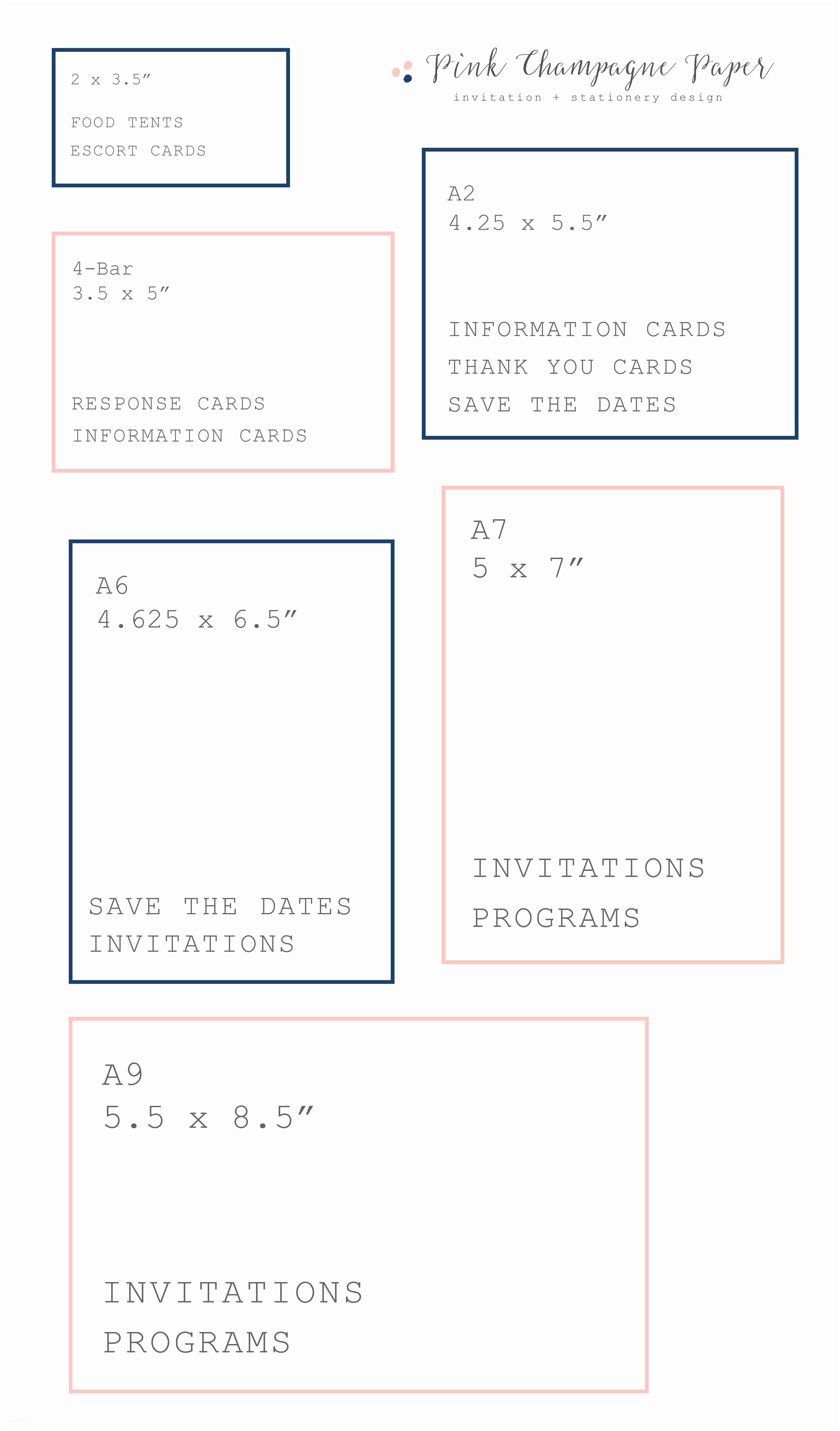 Typical Wedding Invitation Size Standard Wedding Invitation Size – Gangcraft