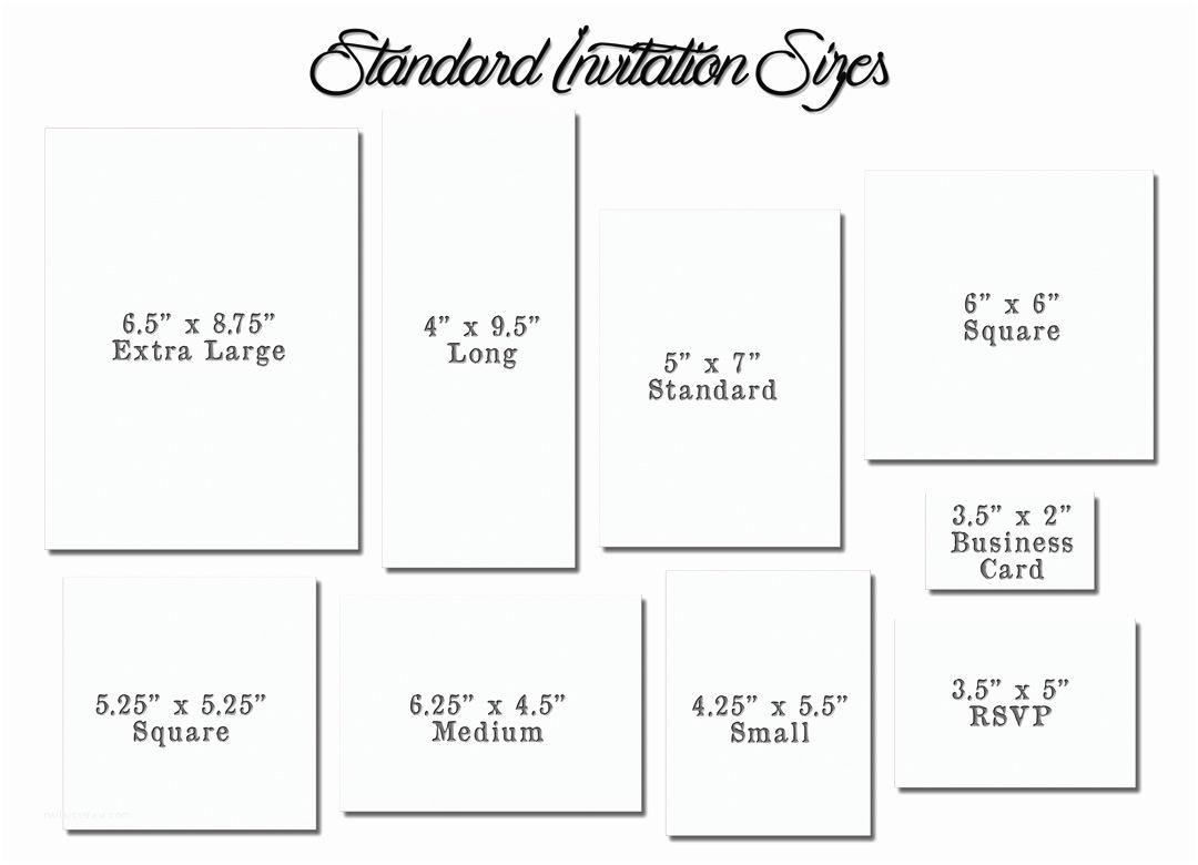 Typical Wedding Invitation Size Wedding Envelope Size