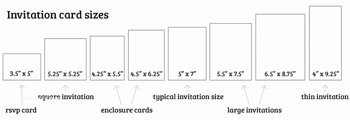 Typical Wedding Invitation Size What Is The Standard Wedding Invitation Size