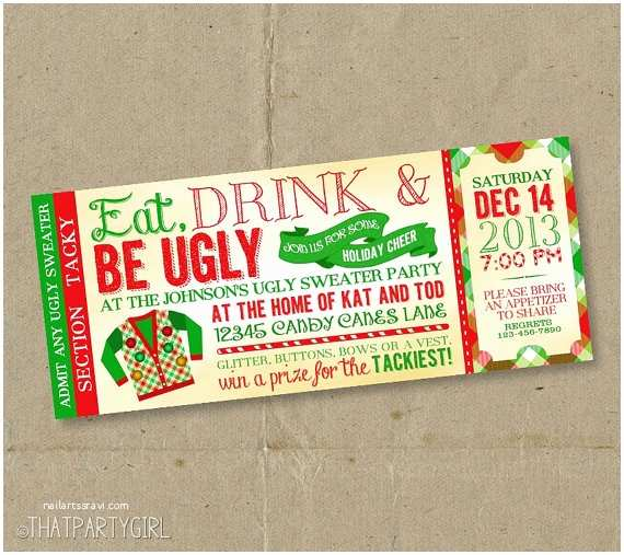 Ugly Christmas Sweater Party Invitations 301 Moved Permanently