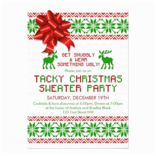 Ugly Sweater Christmas Party S Tacky Ugly Christmas Sweater Party
