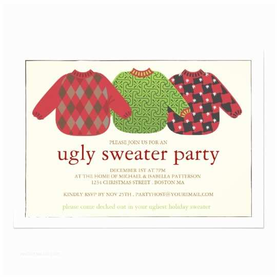 Ugly Sweater Christmas Party S Ugly Christmas Sweater Party