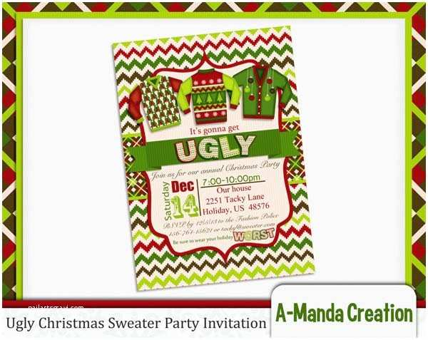 Ugly Sweater Party Invitations Ugly Christmas Sweater Party Ideas Christmas Celebration