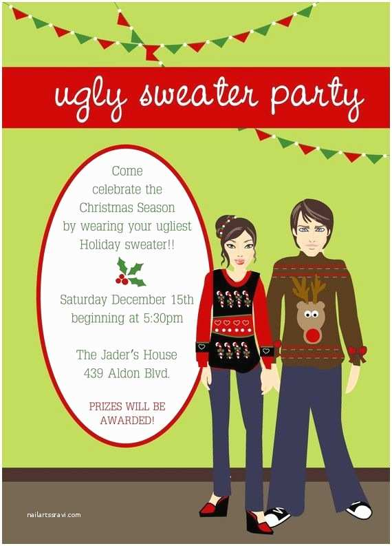Ugly Sweater Party Invites 13 Best Ugly Christmas Sweater theme Images On Pinterest