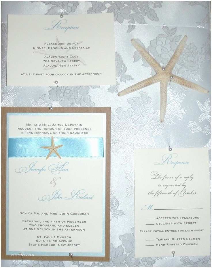 Unique Beach Wedding Invitations Custom Beach themed Wedding Invitations with A Real by