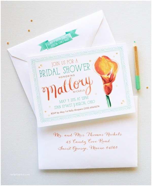 Unique Bridal Shower Invitations Unique Bridal Shower Invitations