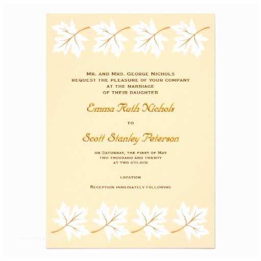 Unique Fall Wedding Invitations Elegant Autumn Wedding Invitations Elegant Fall Maple