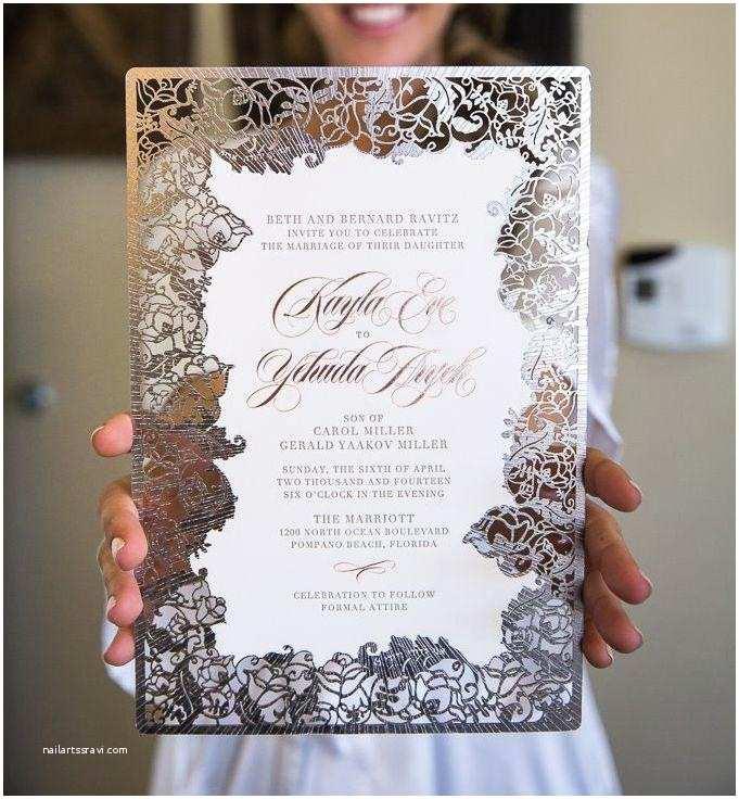 Unique Fall Wedding Invitations Super Unique Laser Cut Wedding Invitations Weddbook