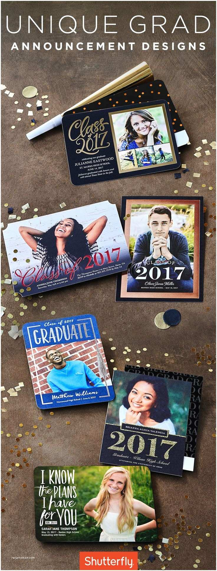 Unique Graduation Invitations Best 25 Senior Graduation Invitations Ideas On Pinterest