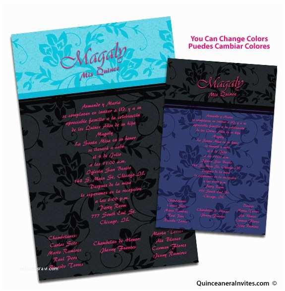 unique 02 quinceanera invitations