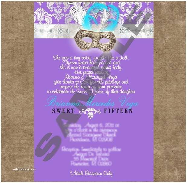 Unique Quinceanera Invitations Unique Quinceanera Invitations