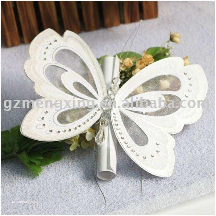Unique Wedding Invitation Designs butterfly Wedding Invitations