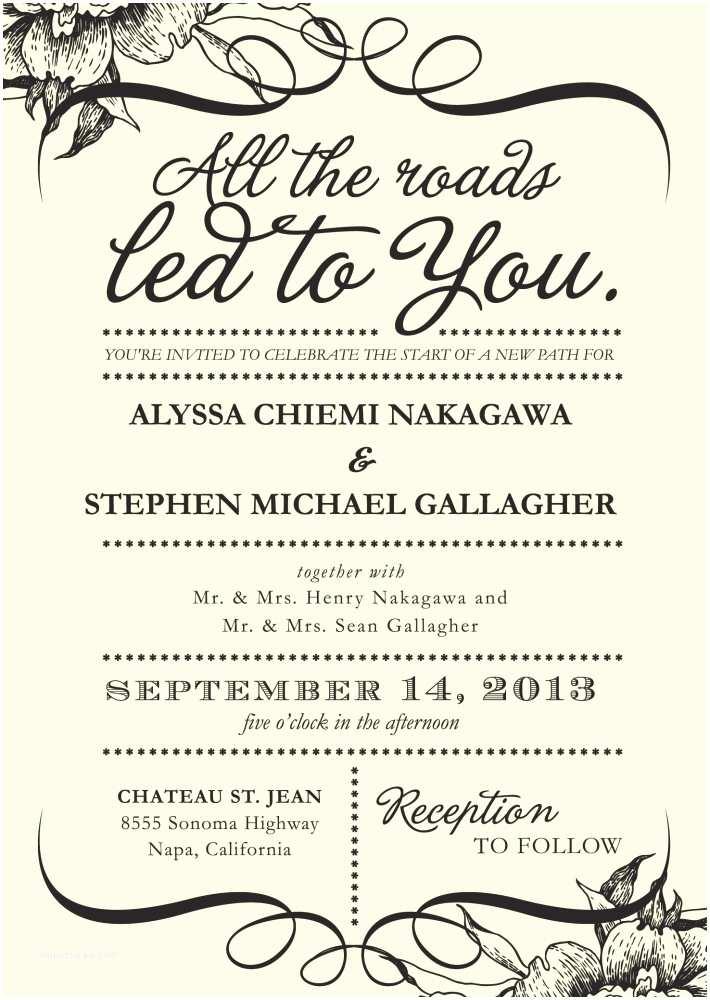 Unusual Wedding Invitation Wording 4 Words that Could Simplify Your Wedding Invitations