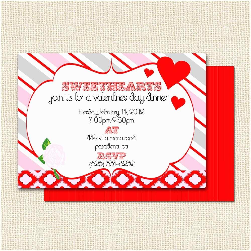 Valentine Party Invitations Interesting Valentine Day Party