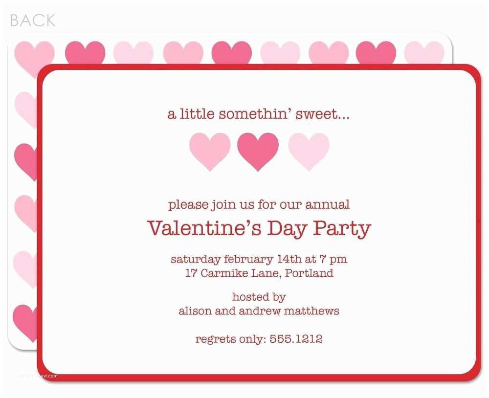 Valentine Party Invitations Valentine S Day Invitation Template