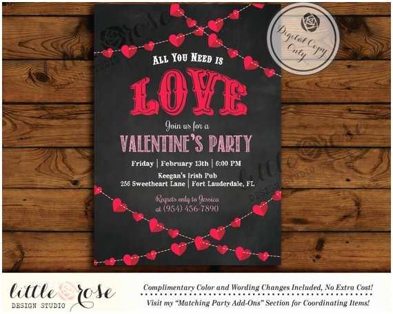 Valentine Party Invitations Valentine S Party Invitation Valentine S Day Card