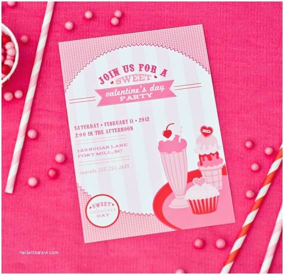 Valentines Day Party Invitations Printable Valentine S Day Party Invitations