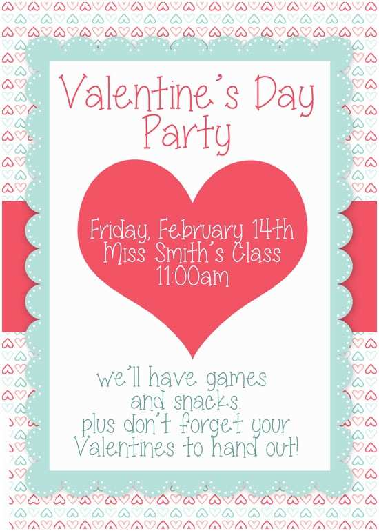 Valentines Day Party Invitations Valentine S Day Party Free Printables How to Nest for Less™