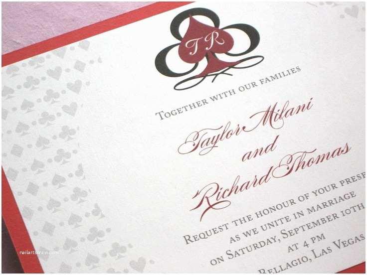 Vegas Wedding Invitations 64 Best Sports & Games Wedding Stationery Images On