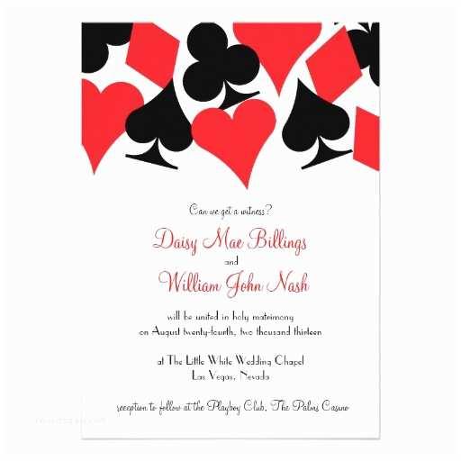 Vegas Wedding Invitations Destiny Las Vegas Wedding Invitation