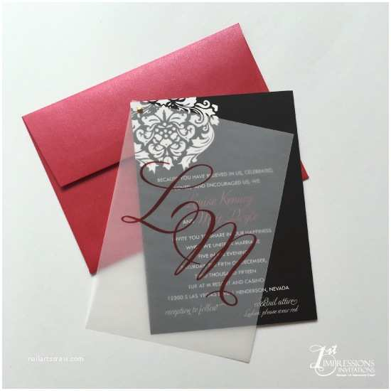 Vellum Wedding Invitations 1st Impressions Invitations Vellum Wedding Invitations