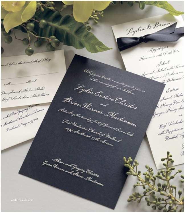 vera wang wedding invitation collection