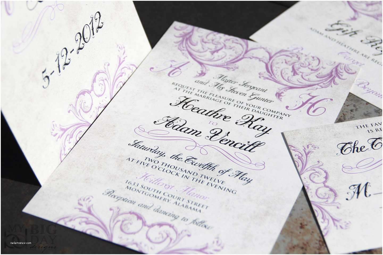 Victorian Wedding Invitations Classic Elegant Vintage Victorian Wedding Invitations