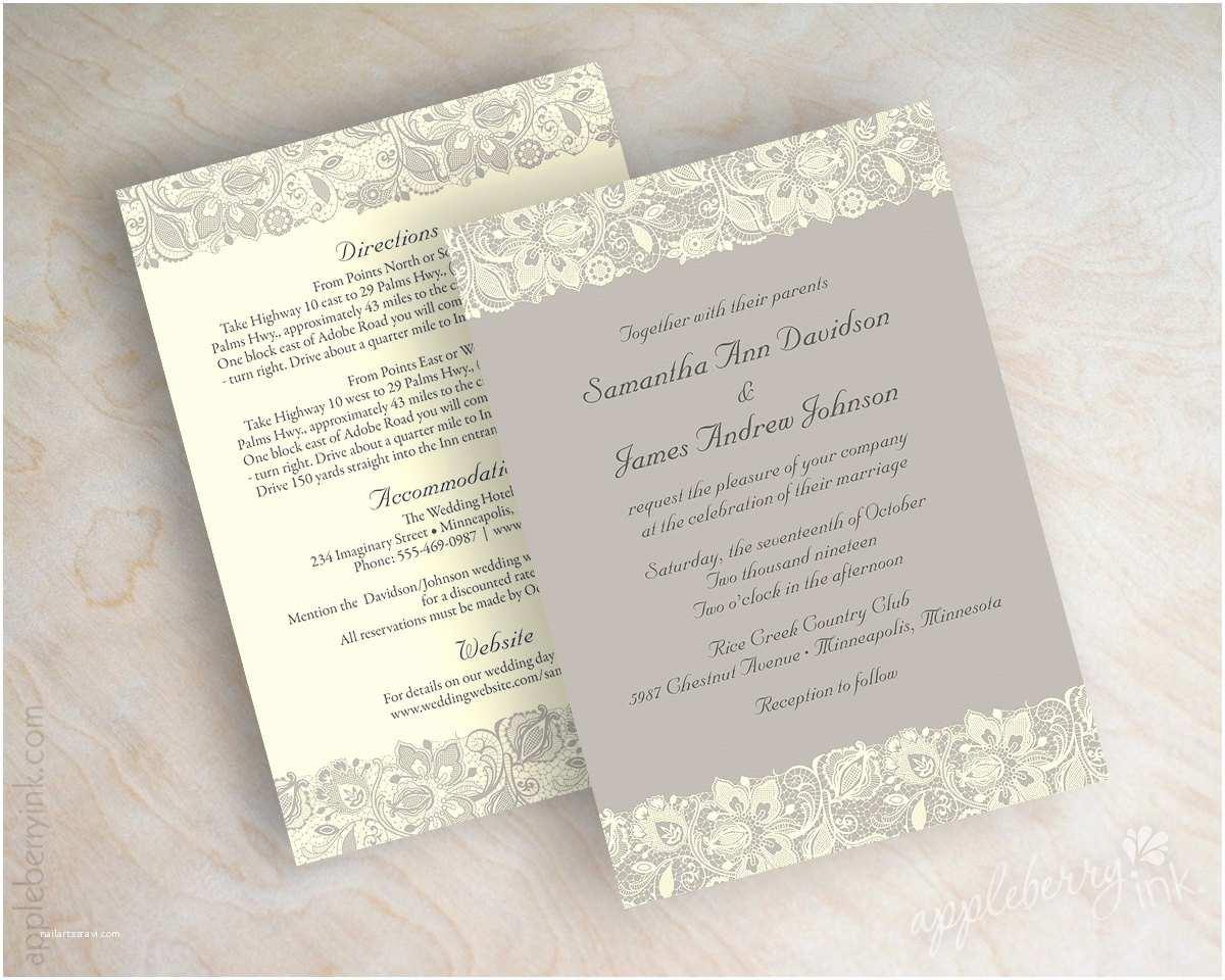 Victorian Wedding Invitations Lace Wedding Invitation Victorian Wedding Invitations