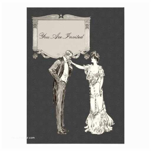 "Victorian Wedding Invitations Victorian Wedding Invitations 5"" X 7"" Invitation Card"