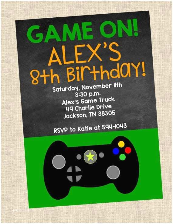 Video Game Party Invitations 17 Best Images About Party Ideas R My Teenager On