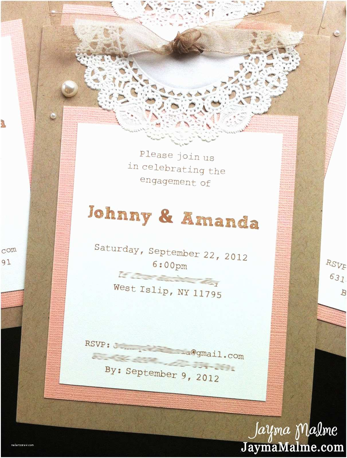 Vintage Baby Shower Invitations Playing with Paper Scrapbooks Cards & Diy Vintage Doily