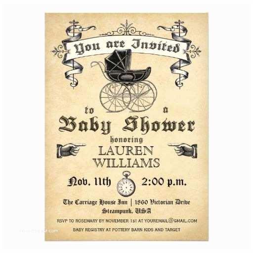 Vintage Baby Shower Invitations Vintage Baby Shower Invitation Ii