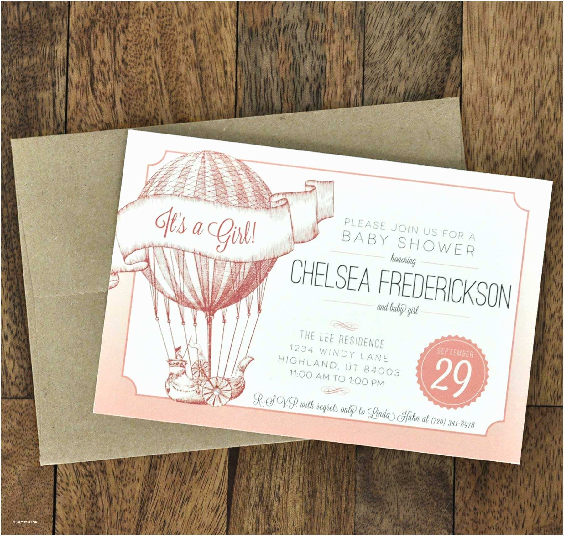 Vintage Baby Shower Invitations Vintage Style Baby Shower Invitations