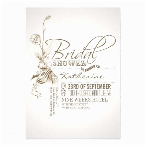 Vintage Bridal Shower Invitations Bridal Shower Invitations Free Vintage Bridal Shower