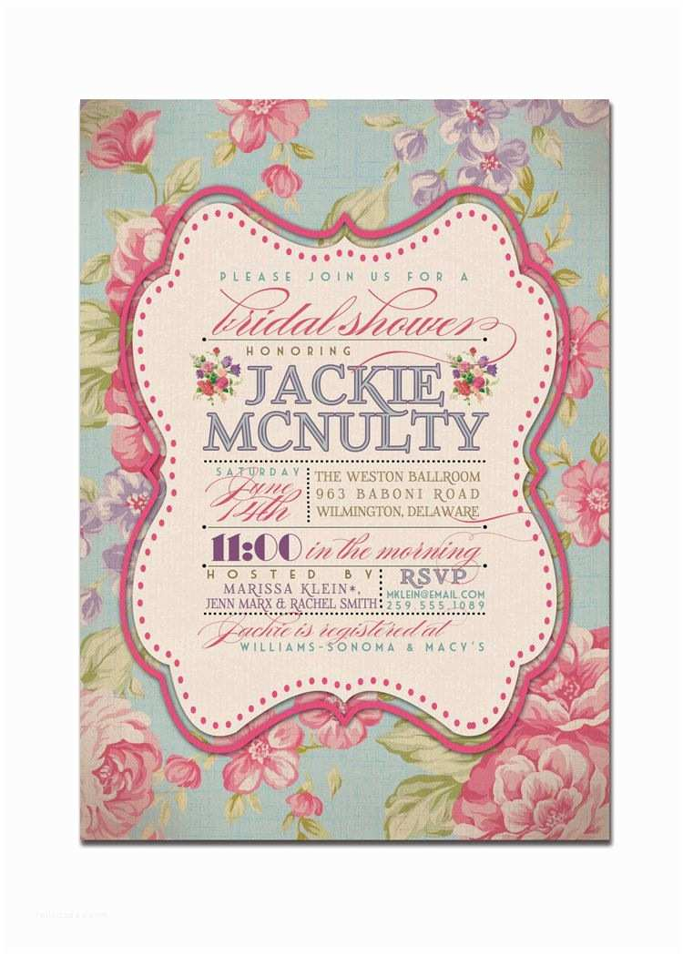Vintage Bridal Shower Invitations Vintage Wedding Shower Invitations Vintage Bridal Shower