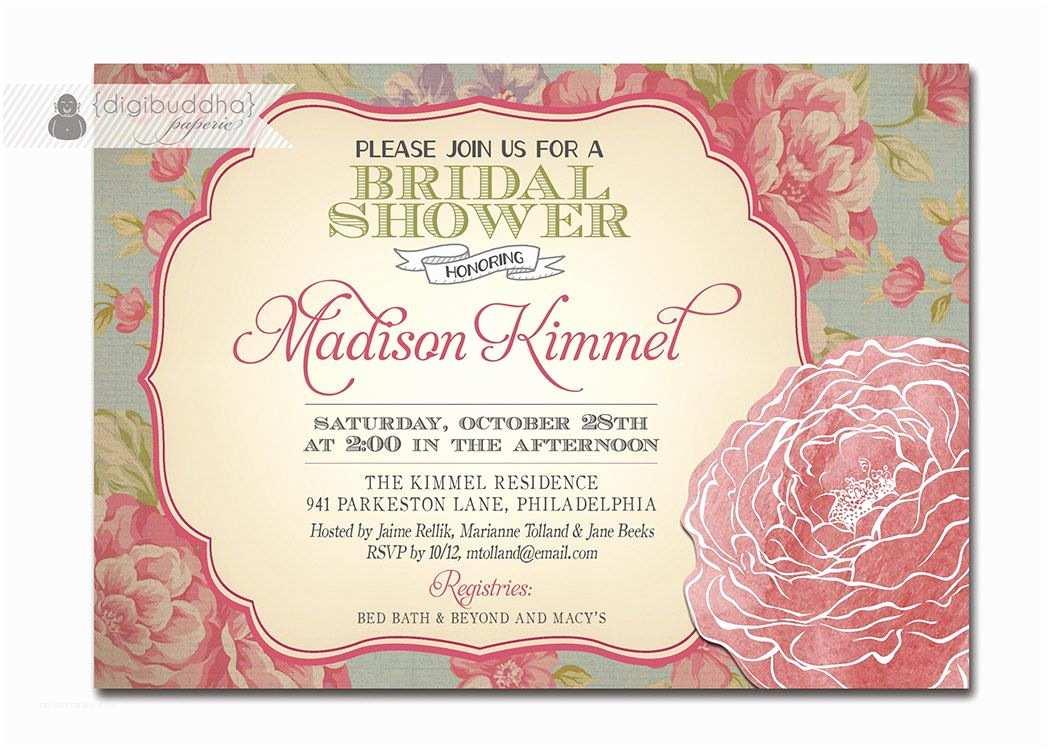 Vintage Bridal Shower Invitations Vintage Wedding Shower Invitations Vintage Bridal Shower