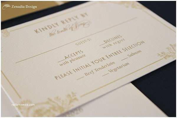 Vintage Hollywood Wedding Invitations Romantic Glamour Wedding Invitations Wedding Invitations