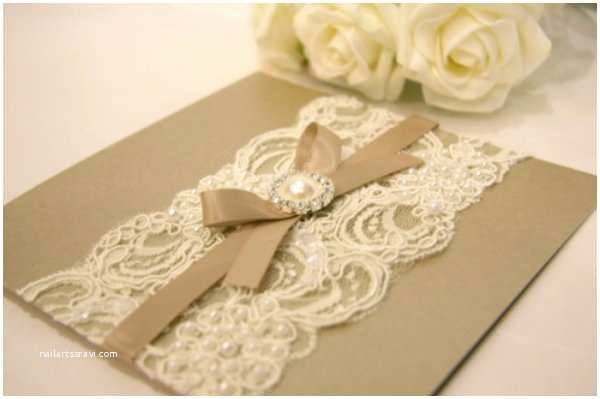 Vintage Lace Wedding Invitations Antique Wedding Invitations