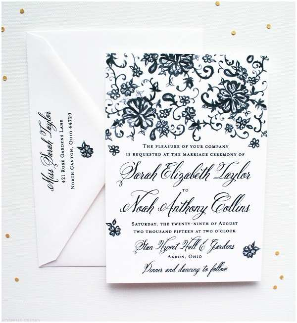 Vintage Lace Wedding Invitations Vintage Wedding Invitations Custom Save the Dates