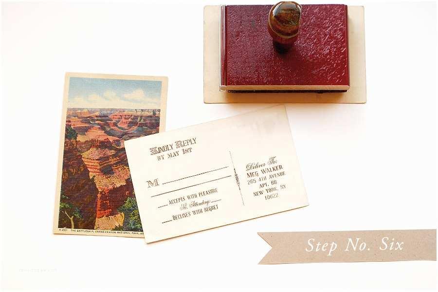 Vintage Stamps for Wedding Invitations Diy Rubber Stamp Vintage Western Wedding Save the Dates
