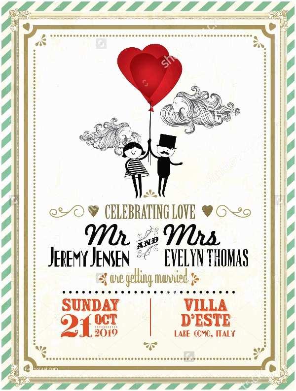 Vintage Wedding Invitation Templates 18 Vintage Wedding Invitations Free Psd Vector Ai Eps