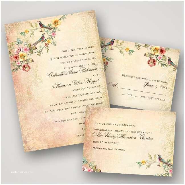 Vintage Wedding Invitations Cheap Invitations by Dawn Vintage Wedding Invitation Collection