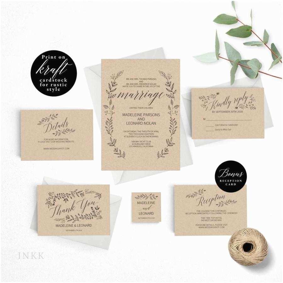 Vintage Wedding Invitations Cheap Rustic Wedding Invitation Template formal Wedding
