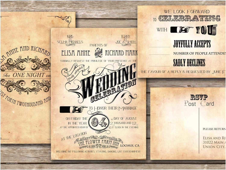 Vintage Wedding Invitations Unique Vintage Wedding Invitations 2016