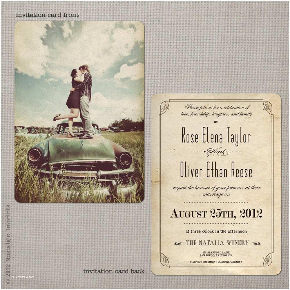 Vintage Wedding Invitations Wedding Invitations Wedding Guest Invitations Wedding