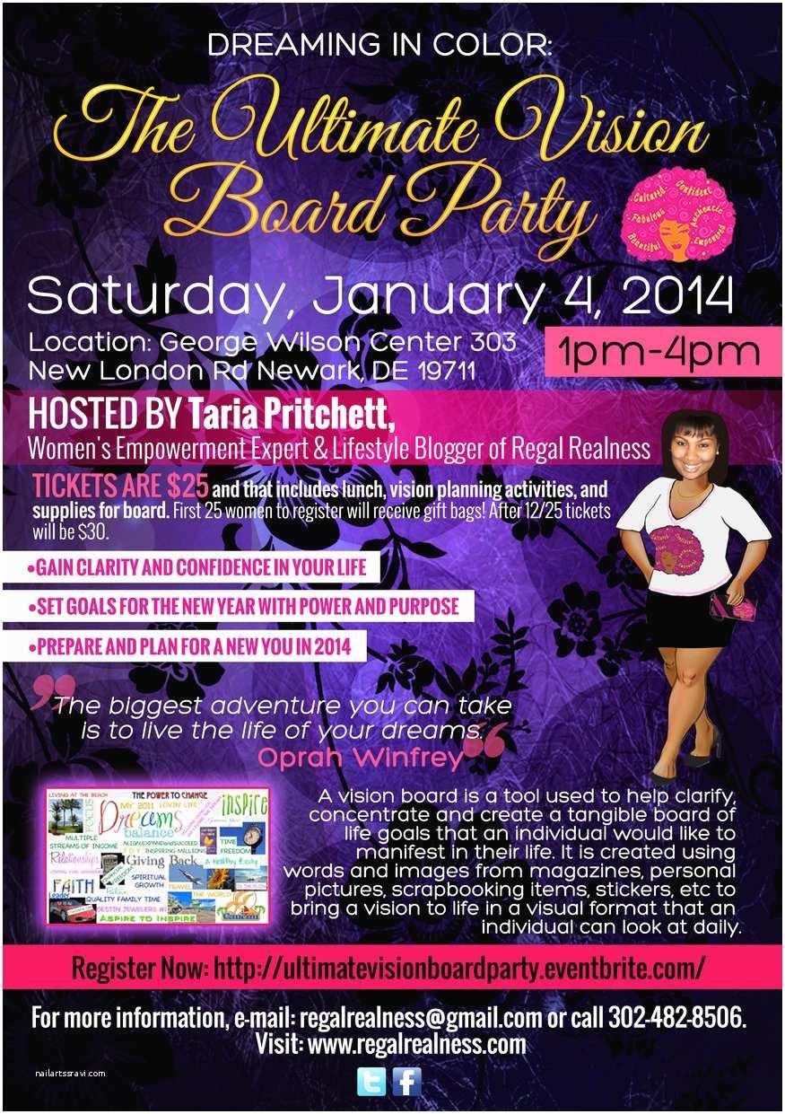 Vision Board Party Invitation Rszvisionboardpartyflyer2014 875×1241