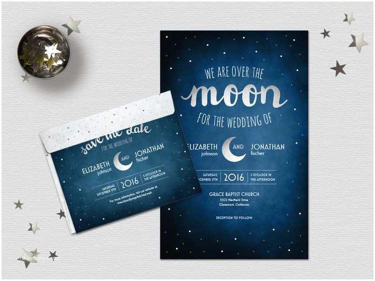 Vista Prints Wedding Invitations 31 Best Starry Night Wedding Images On Pinterest