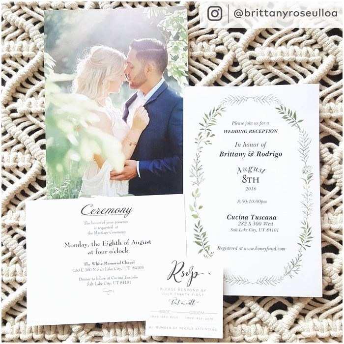 Vistaprint Wedding Invitations Custom Wedding Invitations & Announcements