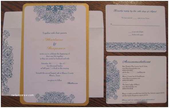 Vistaprint Wedding Invitations My Invitation Samples From Vistaprint Pic Heavy