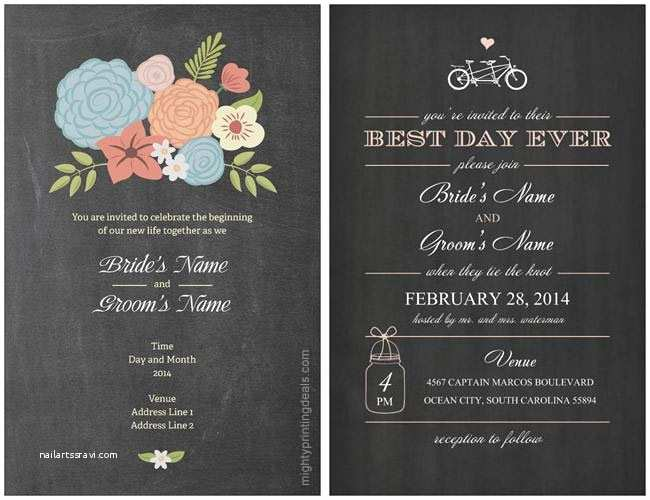 Vistaprint Wedding Invitations Vistaprint Wedding Invitations Coupon for A Discount